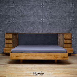 Дубовая кровать GRAFIN от интернет-магазина HBMart