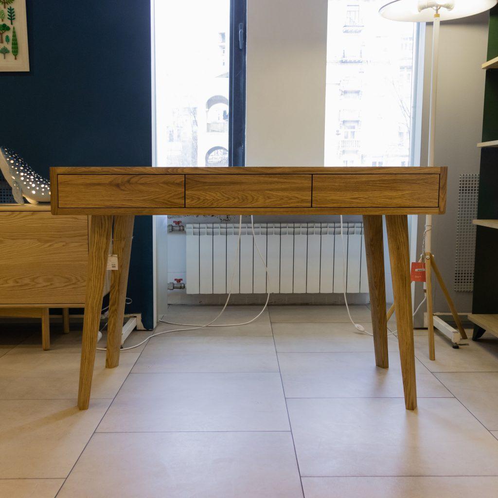 Рабочий стол из массива дуба CABRIO LUX от HBMart