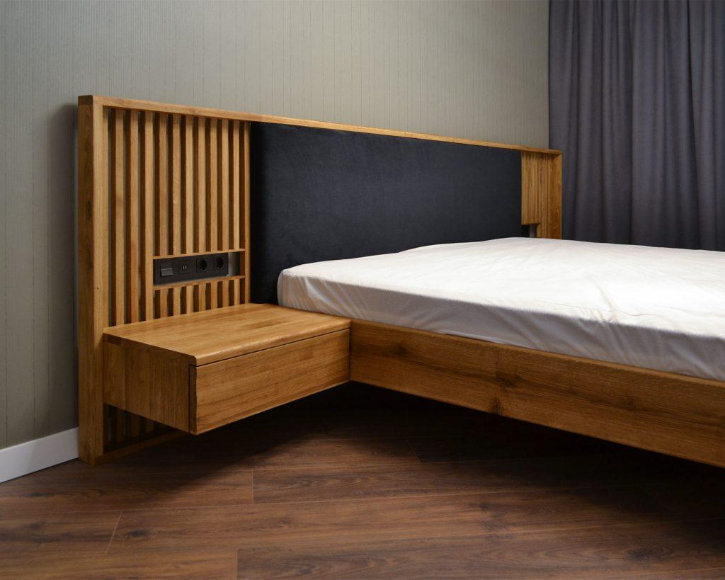 Дубовая кровать GRAFIN от HBMart